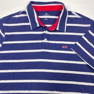 Vineyard Vines Men's Short Sleeve Polo Size M